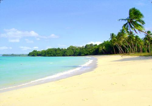 The famous Champagne Beach, Espiritu Santo Island