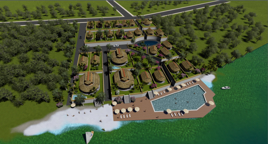 Artist's Impression, Pacific Haven Resort, Teouma Bay, Port Vila, Vanuatu