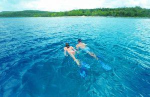 Tourists love Swimming in Vanuatu's clear waters
