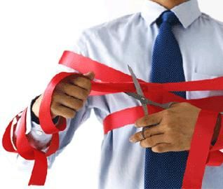 Cut the red tape!