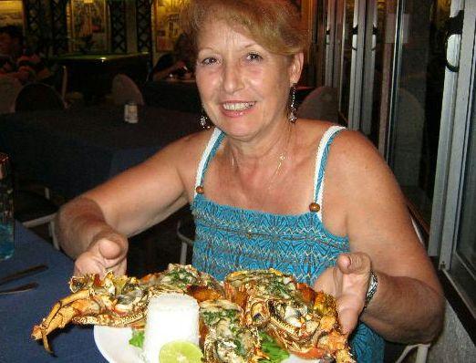 Crayfish (lobster) - yum!
