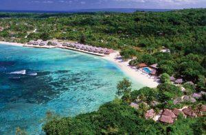 "The successful Breakas resort, with ""Upmarket Tribal"" Bungalow design"
